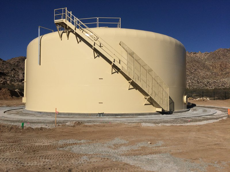Valley Crest Tank in Apple Valley, California